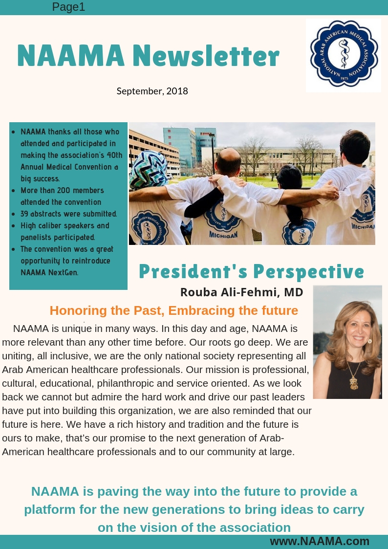 Newsletter September 2018