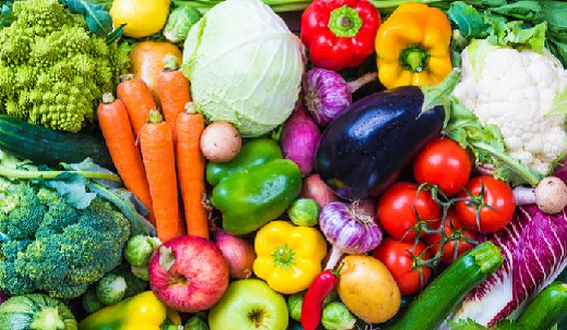 Fruits and vegetables are important components of a healthy diet. Depending on our sex and age we should consume at least one and half to two cups of fruit, and two to three cups of vegetables per day.