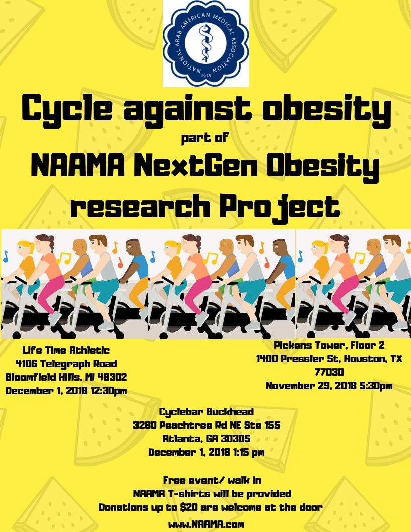 Cycle Against Obesity 2018
