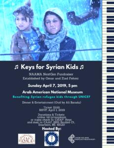 Keys for Syrian kids