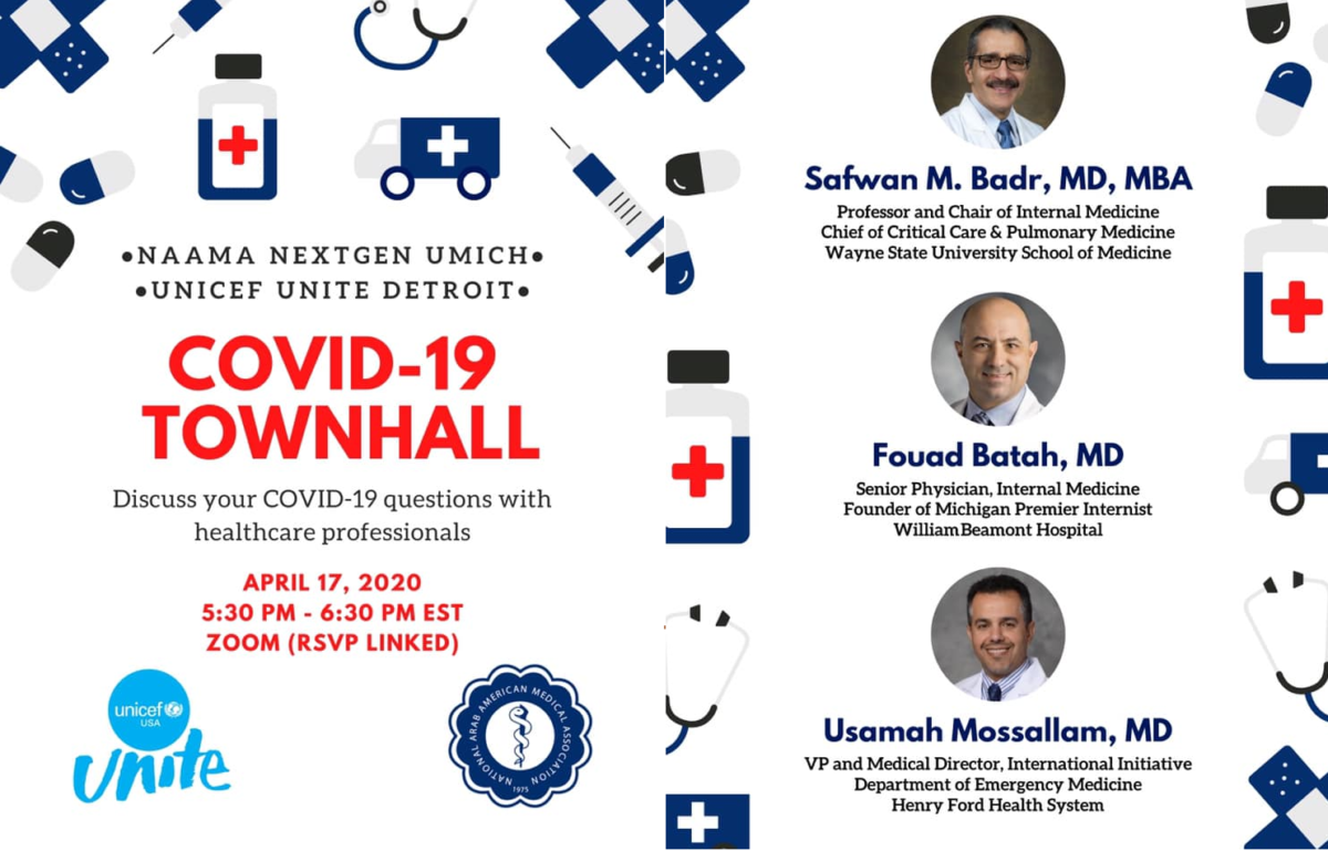 NEXTGEN FIRST COVID-19 TOWN HALL – APRIL 17,  2020​ – CLICK HERE