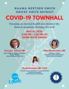 MENTAL HEALTH AND STUDENT LIFE DURING THE CORONAVIRUS PANDEMIC! MAY 16 2020 – CLICK HERE