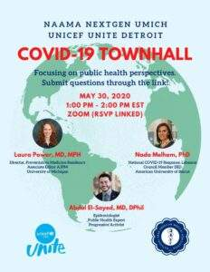 COVID-19, Public And Global Health Perspectives. May 30 2020 Click here